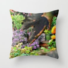 September Morning Throw Pillow