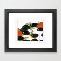 antipasto / olives Framed Art Print