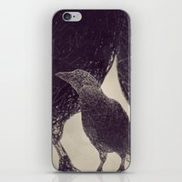Mr Magpie iPhone & iPod Skin
