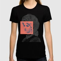 Sunday Girl Womens Fitted Tee Black SMALL