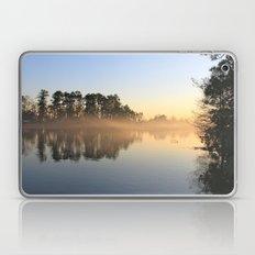 Misty Lake in Color Laptop & iPad Skin