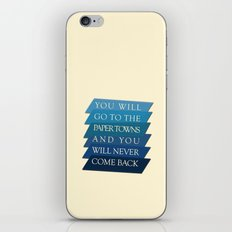 you will go to the paper towns iPhone & iPod Skin