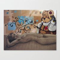 Childhood Protectors Canvas Print