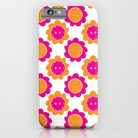 Button Flowers iPhone 6 Slim Case