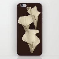 Cream Calla Lilly. iPhone & iPod Skin