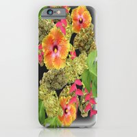 iPhone Cases featuring Tropical Kush by JDHicks