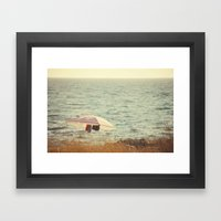 Domingueros Framed Art Print