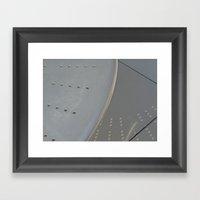 Steel Reflection  Framed Art Print