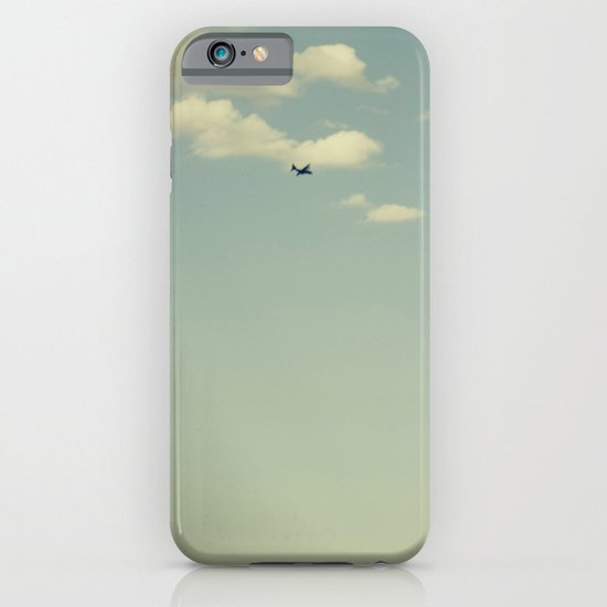 Airplane, Telephone Pole Arrangement iPhone & iPod Case