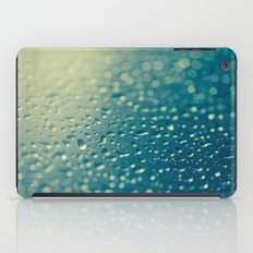 Water Droplets iPad Case
