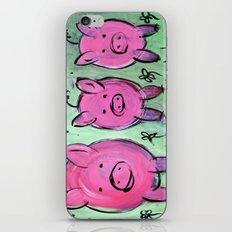 Mama pig iPhone & iPod Skin