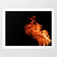 Bonfire Night Art Print