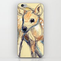 Wobbly Deer iPhone & iPod Skin