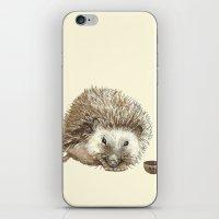 Hector The Hedgehog iPhone & iPod Skin