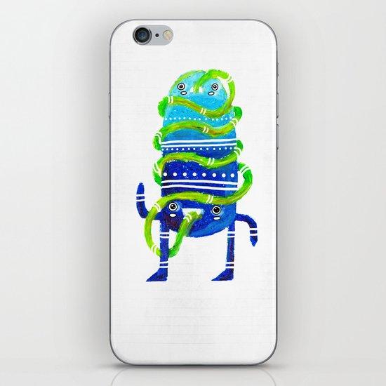Mr Tubeface iPhone & iPod Skin