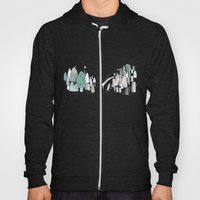 Mountains and the city Hoody