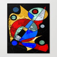 Abstract #103 Canvas Print
