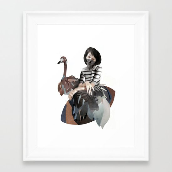 November Framed Art Print