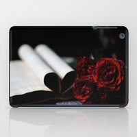 my love is like a red, red rose iPad Case