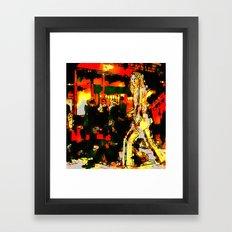 KILL BILL #02  BY Cd KIRVEN Framed Art Print