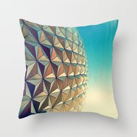 Epcot Throw Pillow