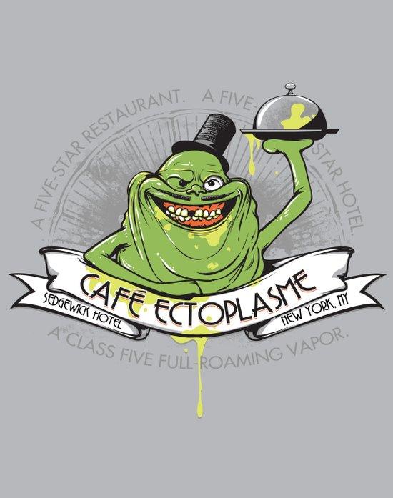 Café Ectoplasme Canvas Print
