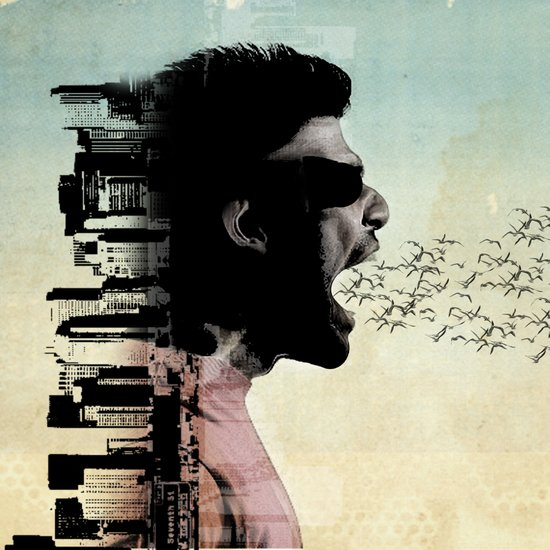 cry city Art Print