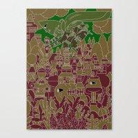 xo--//THT\\--ox Canvas Print