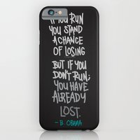 iPhone & iPod Case featuring RUN by eugeniaclara
