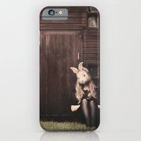 iPhone & iPod Case featuring Rabbit II by LauraWilliams95