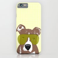 iPhone & iPod Case featuring American Pit Bull Terrier by ialbert
