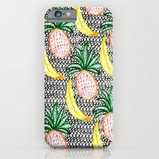 Pineapple and Banana iPhone 6 Slim Case