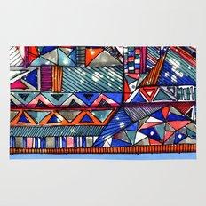 Tribal Texture Rug