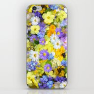 iPhone & iPod Skin featuring Yellow Coctail by Joke Vermeer