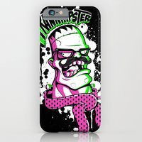 iPhone & iPod Case featuring Frankhipster by Pahito