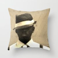original gangsta Throw Pillow