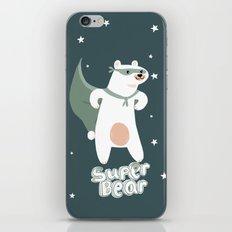superbear iPhone & iPod Skin