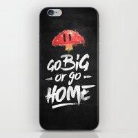 Go Big Or Go Home Mario … iPhone & iPod Skin