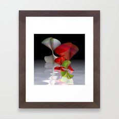 polynomial dance Framed Art Print