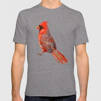 Cardinal Mens Fitted Tee Tri-Grey SMALL