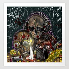 see no, hear no, speak no evil Art Print
