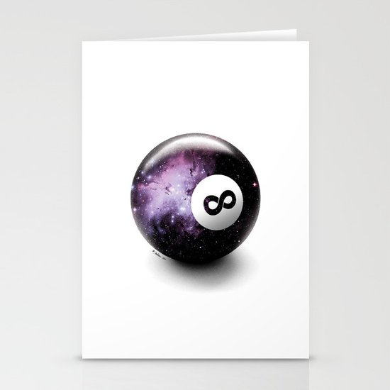 Infinity Shot Stationery Card