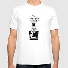 Hangover SMALL Mens Fitted Tee White