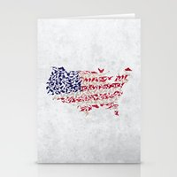 land of the free Stationery Cards
