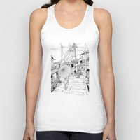 Kyoto - the old city Unisex Tank Top