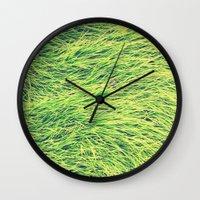 Turf. Wall Clock