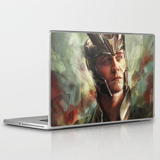 The Prince of Asgard Laptop & iPad Skin