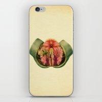 Lady Garden Botanical iPhone & iPod Skin