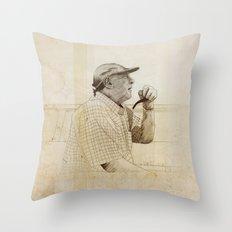 PIPE Throw Pillow