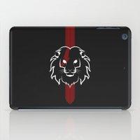 Monarch (White & Red) iPad Case